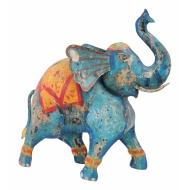 Метален индийски слон 43x15x42 cm