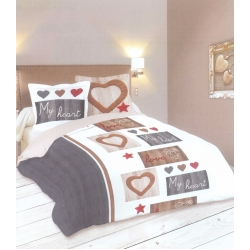 Спален комплект STOF MY HEART  POLICOTON - HP 11781001 / 31781001