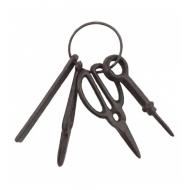 Метална връзк за ключове с ножици
